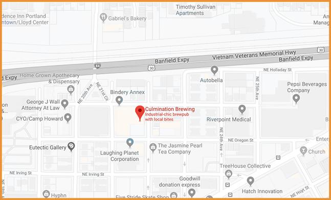 Culmination Brewery on Google Maps